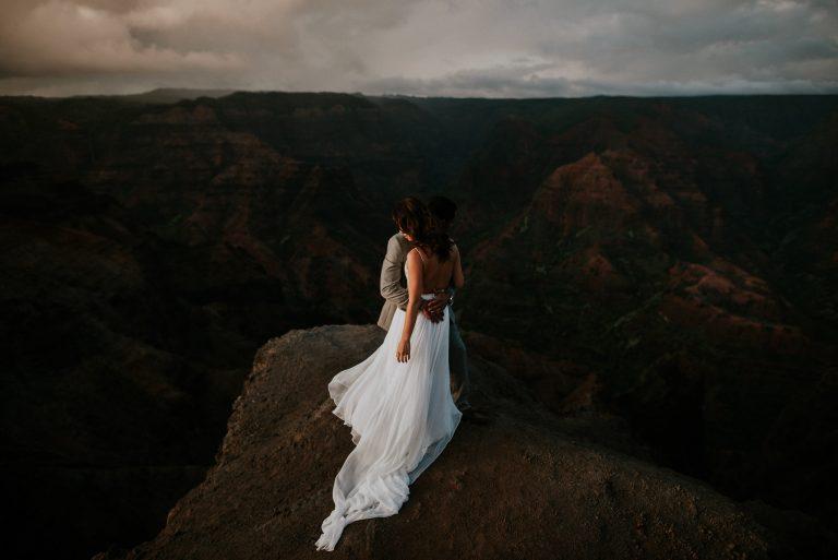 Tunnels Beach Wedding | Kauai Elopement – Hawaii