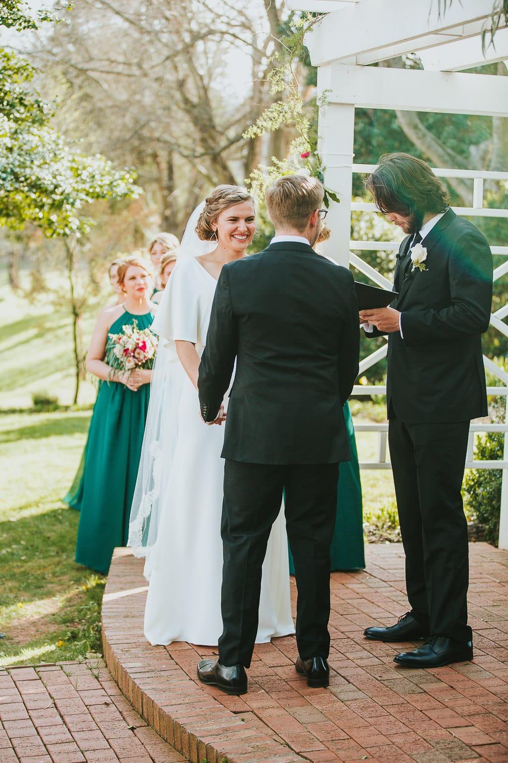 Also, our wedding cake is funfetti. BOOM.