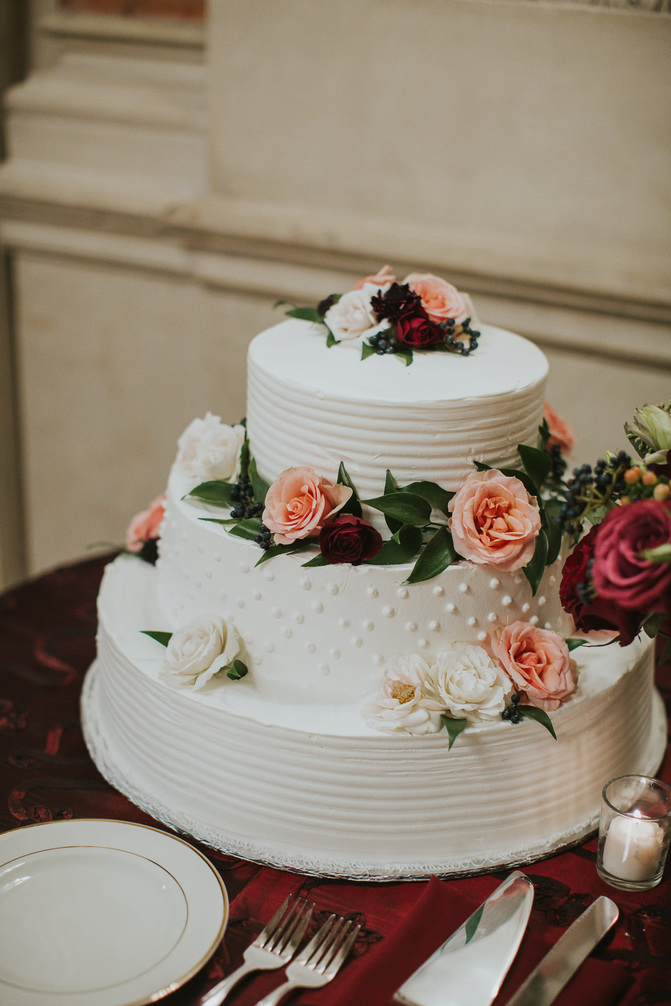 Anderson House Washington DC Wedding cake