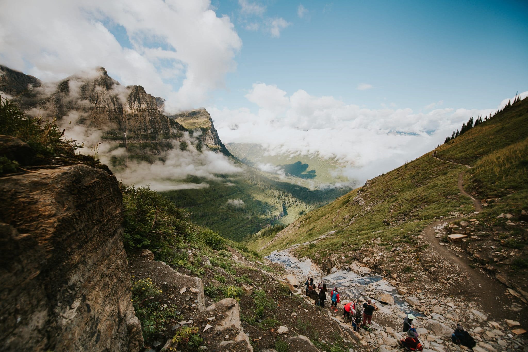 Hikes at Glacier National Park