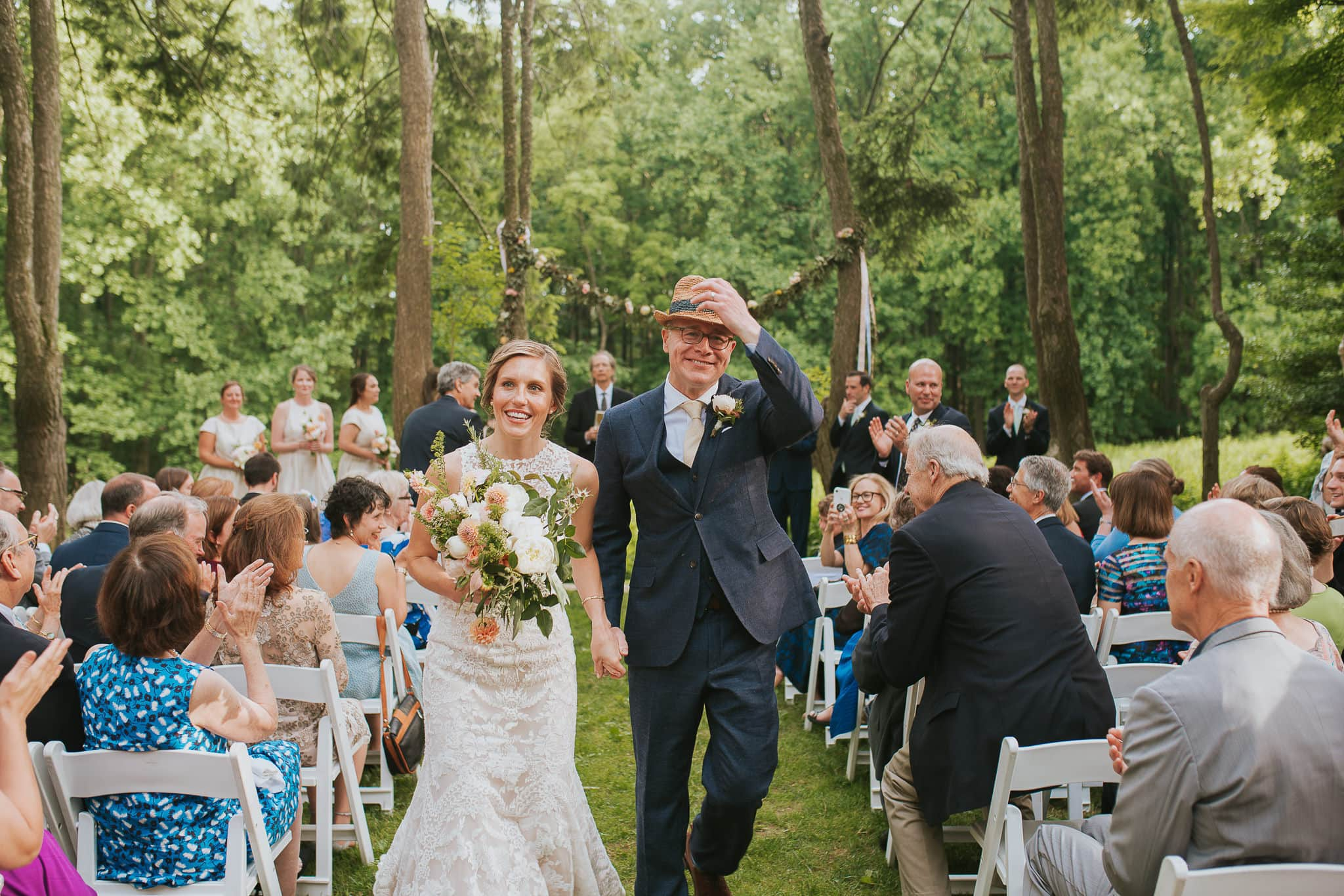 wedding at Woodend Sanctuary
