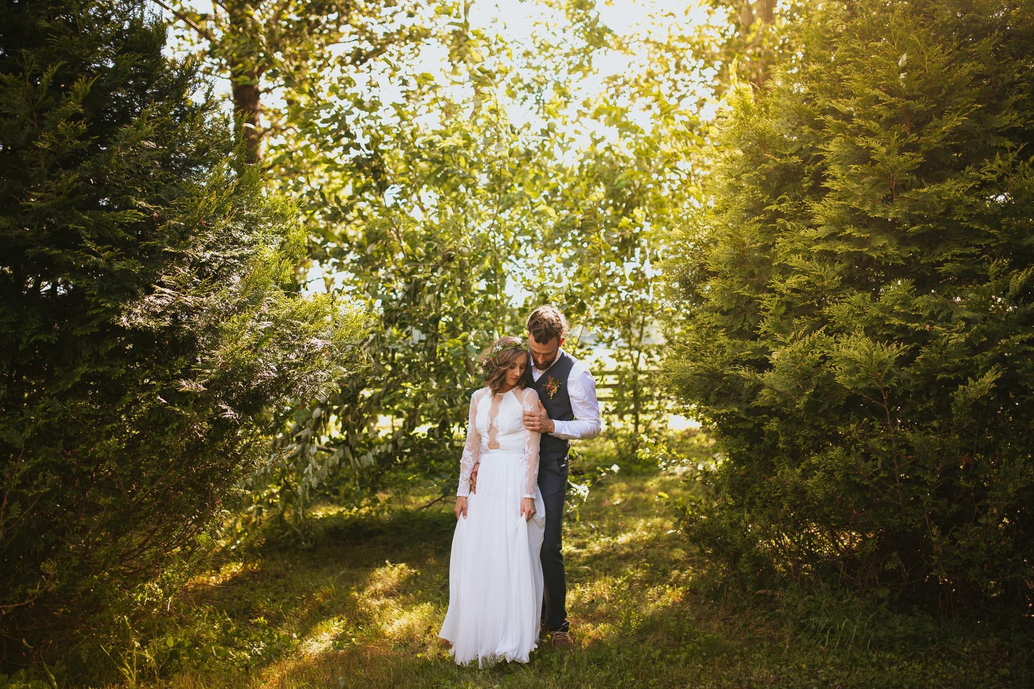 Backyard Wedding Middleburg Virginia
