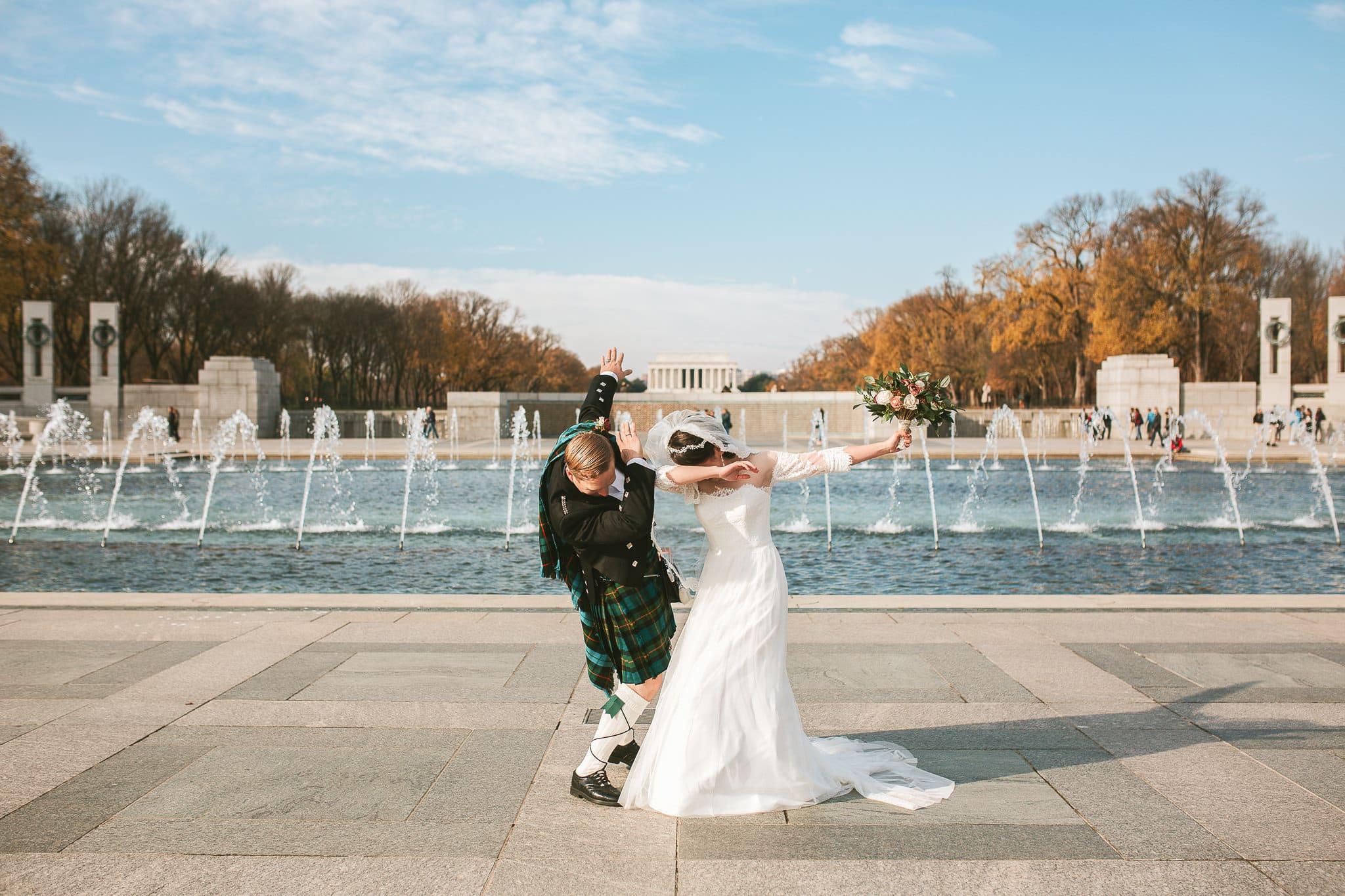 National Mall Elopement