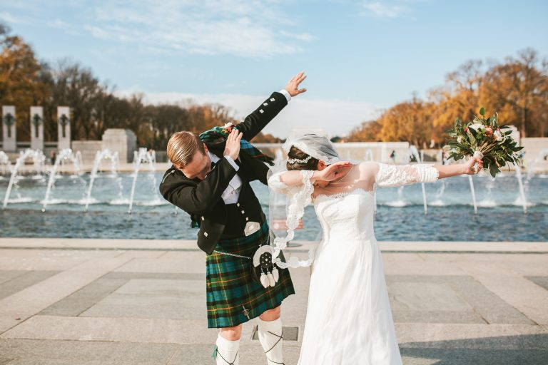 DC War Memorial Wedding – Washington DC Elopement