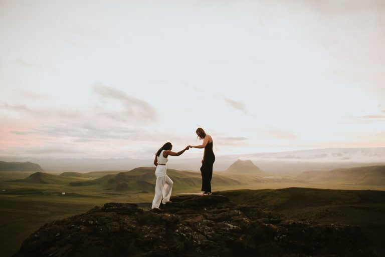 Iceland Elopement – Dyrhólaey, Vik Wedding